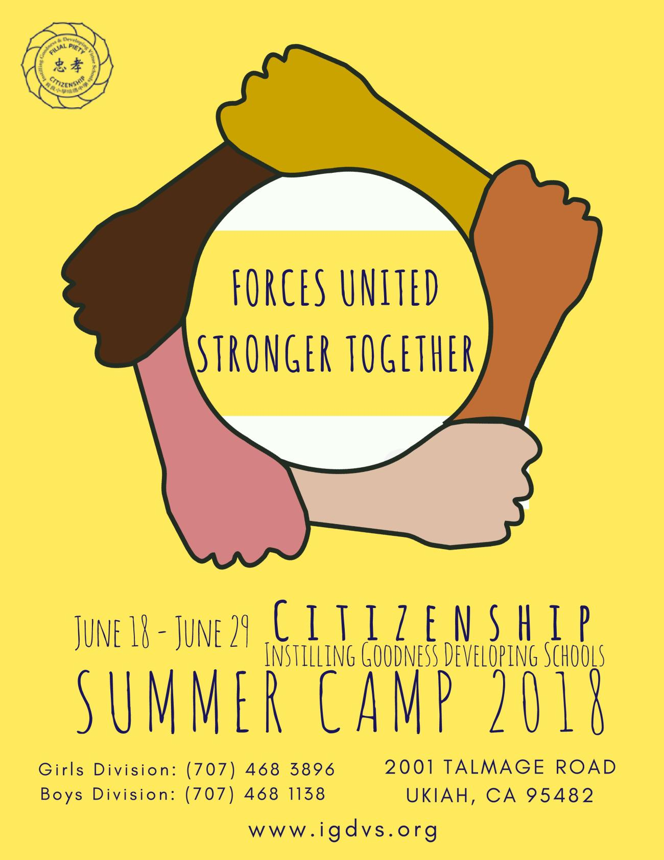 2018 Summer camp_with dates