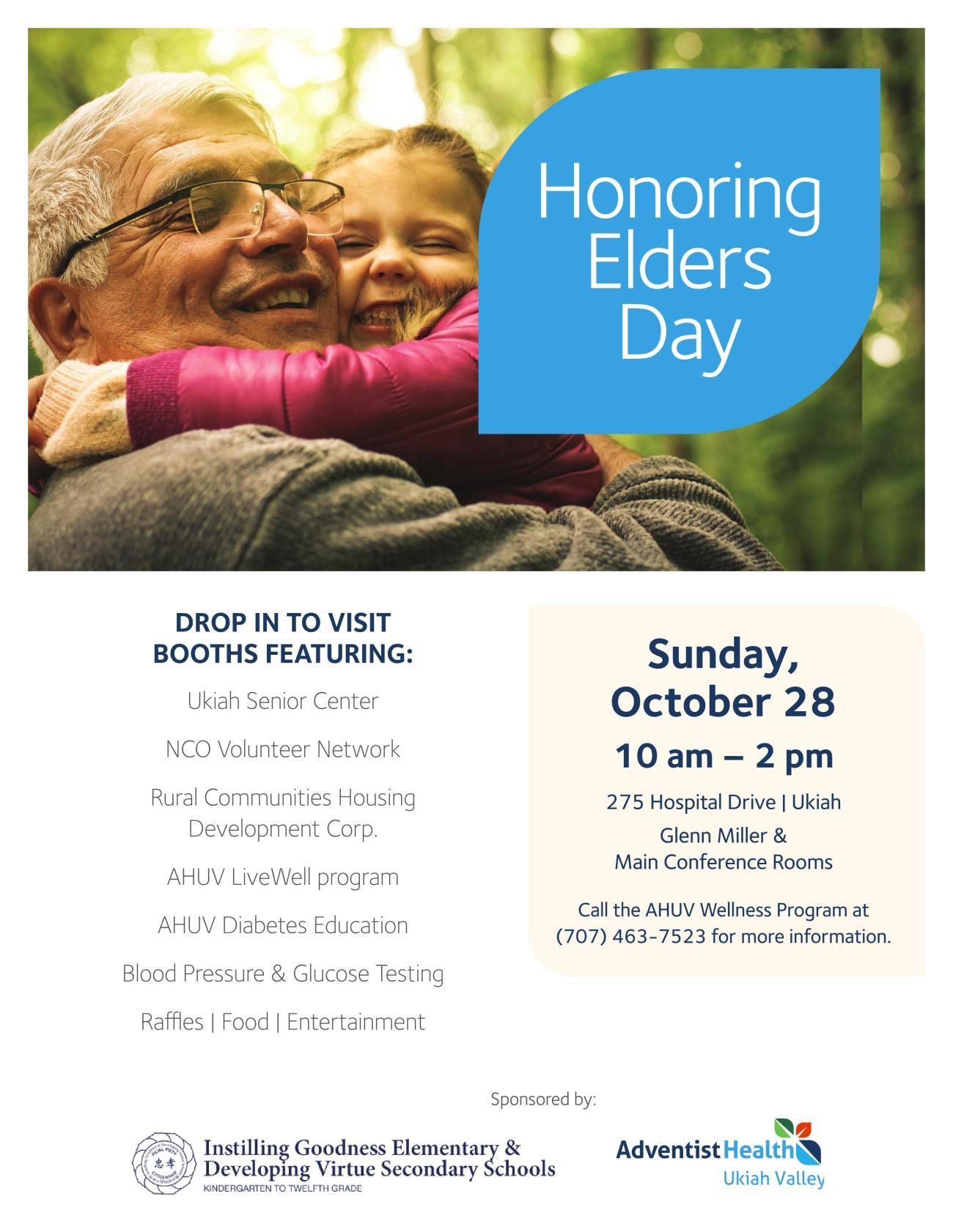 Adventist Honoring Elders Day Flyer