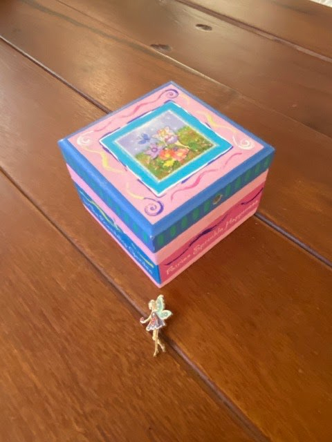 """My mom gave me this necklace box for my birthday many years ago.""  -Katherine Wang (Class of 2024)"
